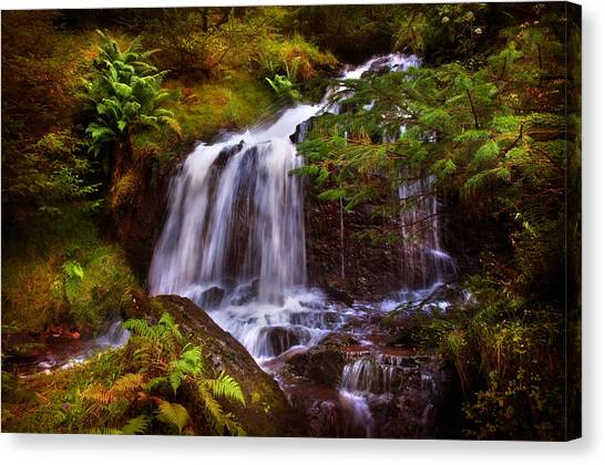 Wilderness. Rest And Be Thankful. Scotland Canvas Print