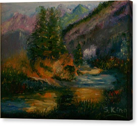Wilderness Stream Canvas Print