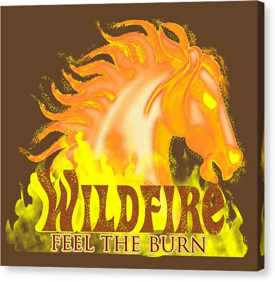 Wildfire - Feel The Burn Canvas Print