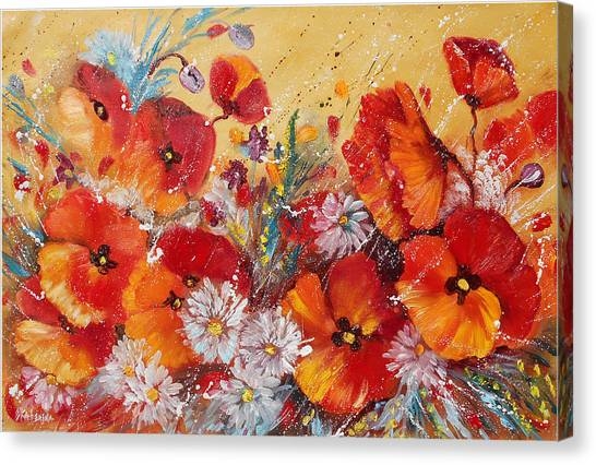 Wildflower Meadows Canvas Print