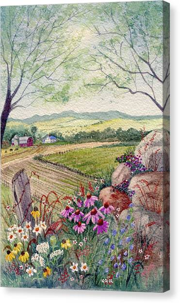 Canvas Print - Wildflower Ridge by Marilyn Smith