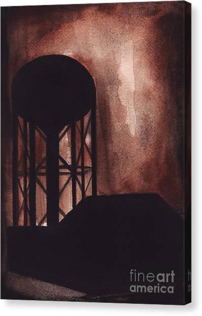 Wildwood Canvas Print by Ron Erickson