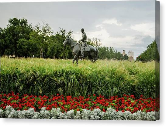 Texas Tech University Canvas Print - Will And Soapsuds by Art Maestas