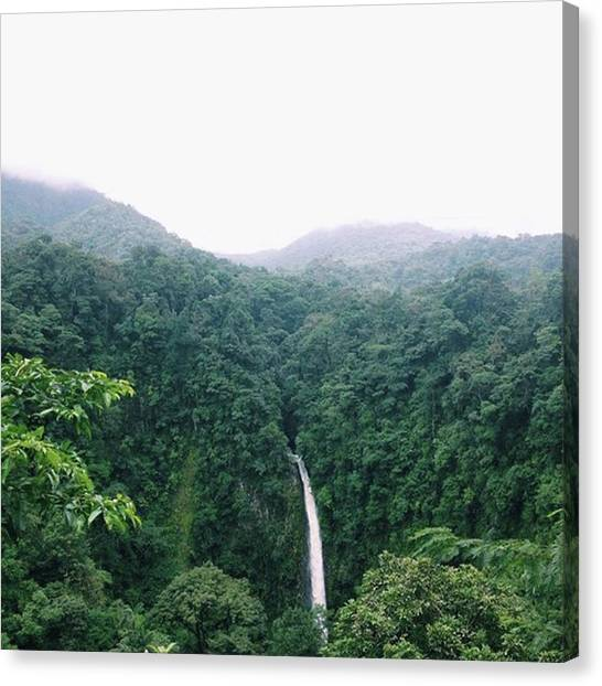 Arenal Volcano Canvas Print - Will These Pictures Ever End? No by Riya Sony
