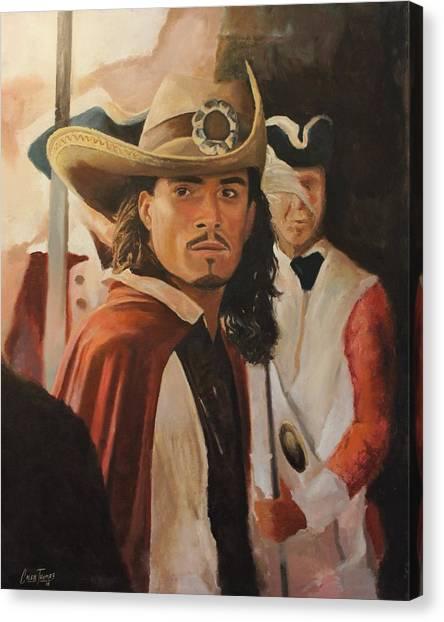 Orlando Bloom Canvas Print - Will Turner by Caleb Thomas