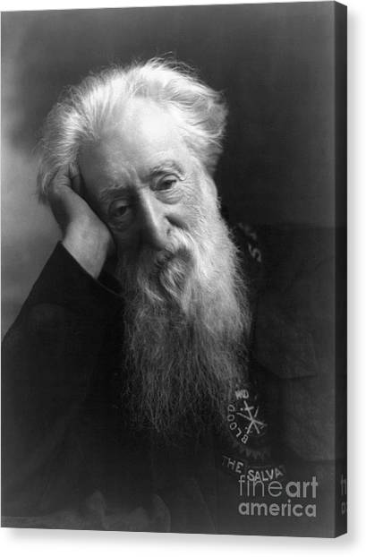 Salvation Army Canvas Print - William Booth (1829-1912) by Granger