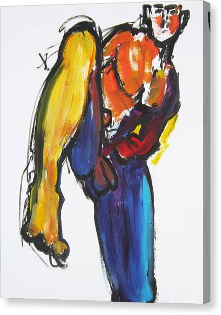 William Flynn Kick Canvas Print