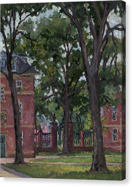 Williams College Frosh Quad Canvas Print