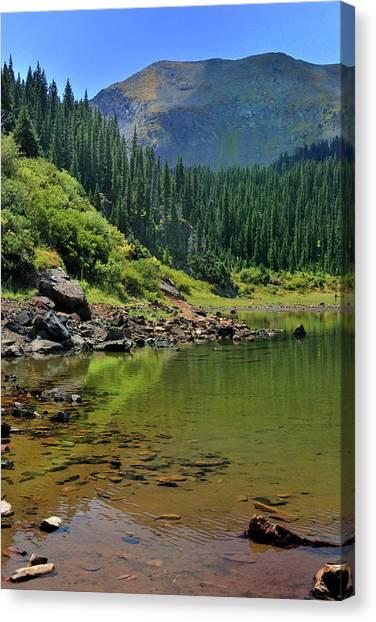 Williams Lake Canvas Print