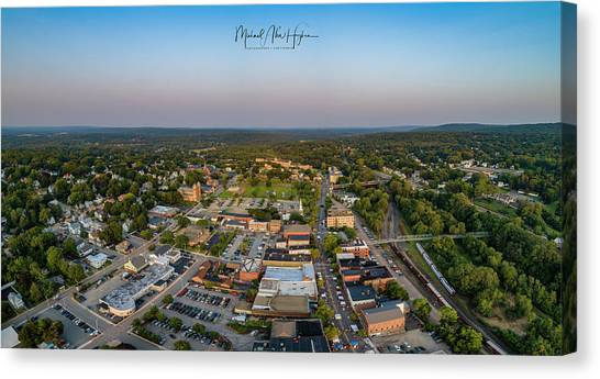 Willimantic Panorama Canvas Print