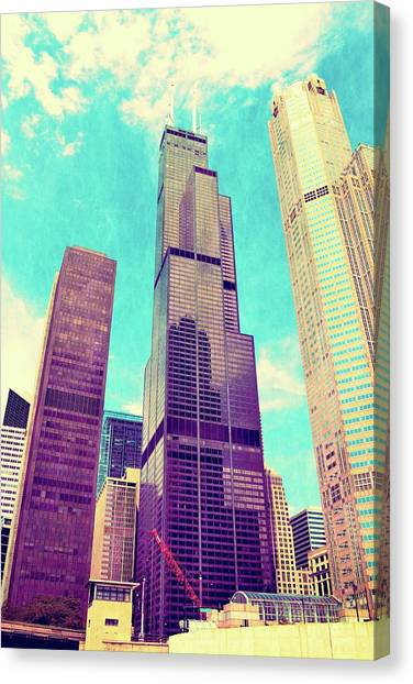 Willis Tower - Chicago Canvas Print