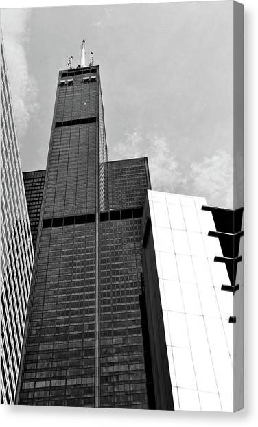 Willis Tower Wedge Canvas Print