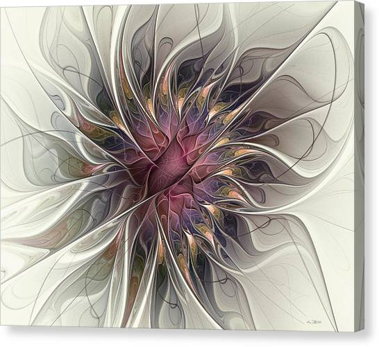 Willowy Mum Canvas Print