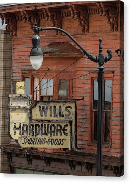 Wills Hardware Canvas Print