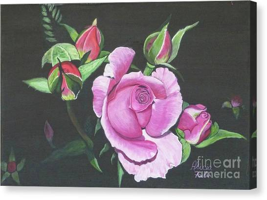 Will's Rose Canvas Print