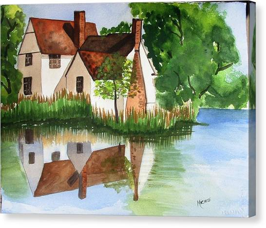 Willy Lotts Cottage Canvas Print