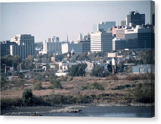 Wilmington's Eastside Skyline Canvas Print