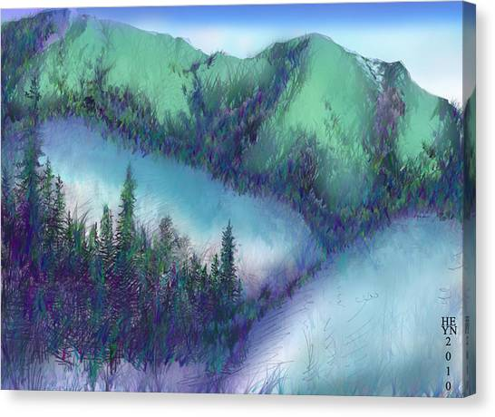 Wilmore Wilderness Area Canvas Print