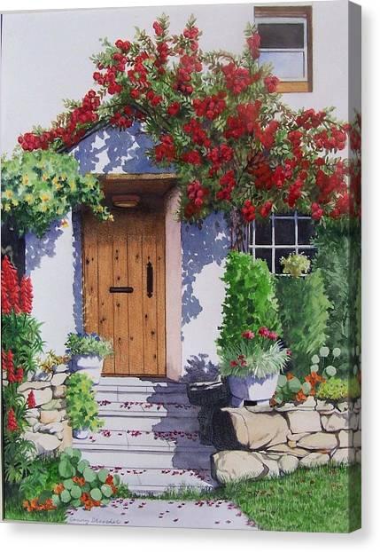 Wiltshire Cottage Canvas Print