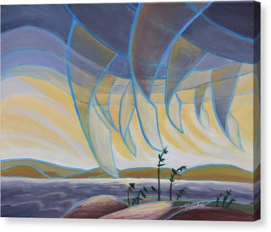 Wind And Rain Canvas Print