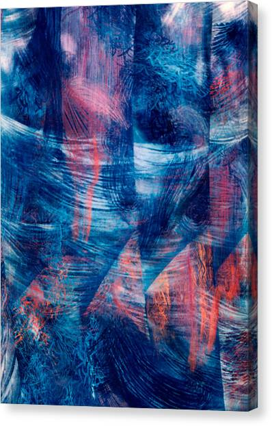 Wind In The Water Canvas Print by Sue Reed