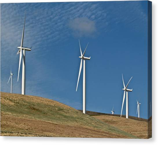 Wind Power 2 Canvas Print
