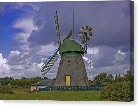 Windmill Amrum Germany Canvas Print