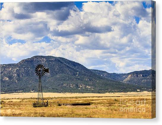 Windmill New Mexico Canvas Print