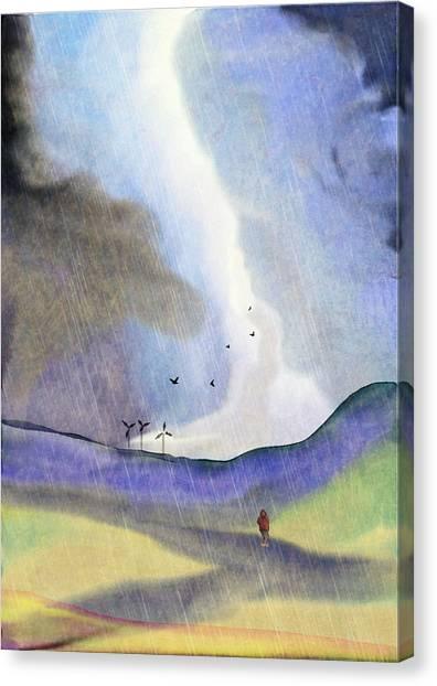 Windmills Of The Mind Canvas Print