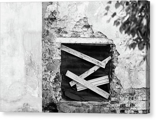 Window #2895 Canvas Print