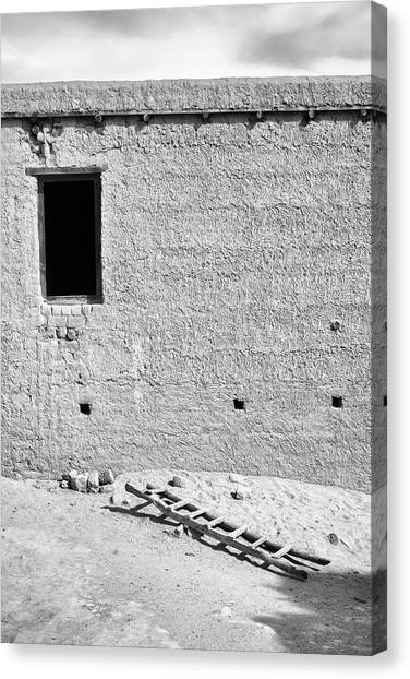 Window And Ladder, Shey, 2005 Canvas Print