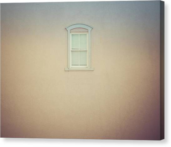 Window And Wall Canvas Print