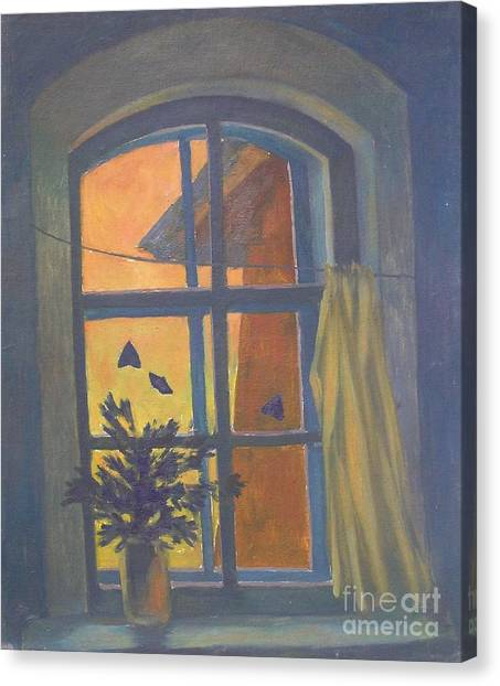 Window Canvas Print by Andrey Soldatenko