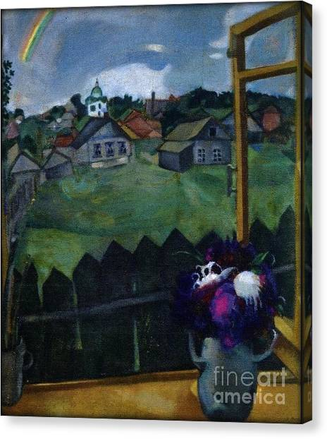 Window At Vitebsk Canvas Print
