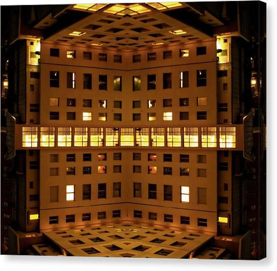 Window Cube Canvas Print