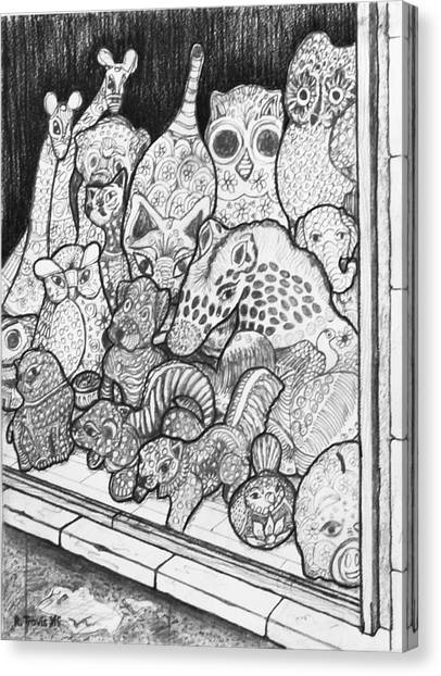 Canvas Print - Window Display by Rich Travis