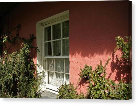 Window In Ireland Canvas Print