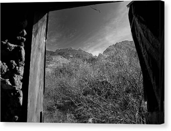Window Canvas Print by John Gee
