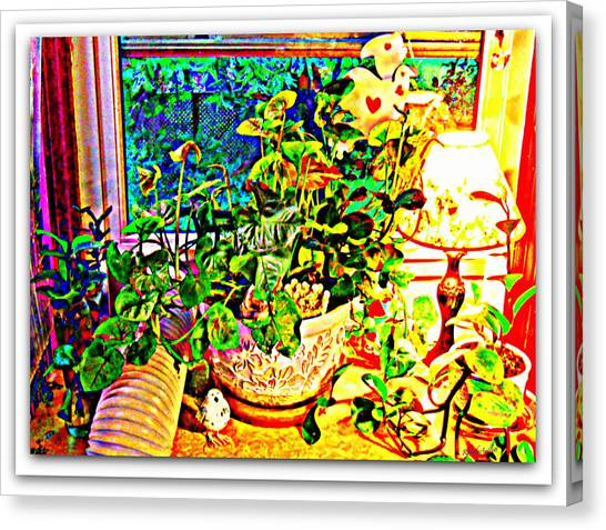 Canvas Print - Window Plant by YoMamaBird Rhonda