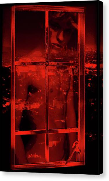 Window Shade 2/10 Canvas Print