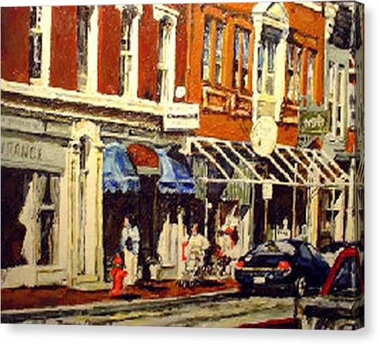 Window Shopping Canvas Print by Thomas Akers