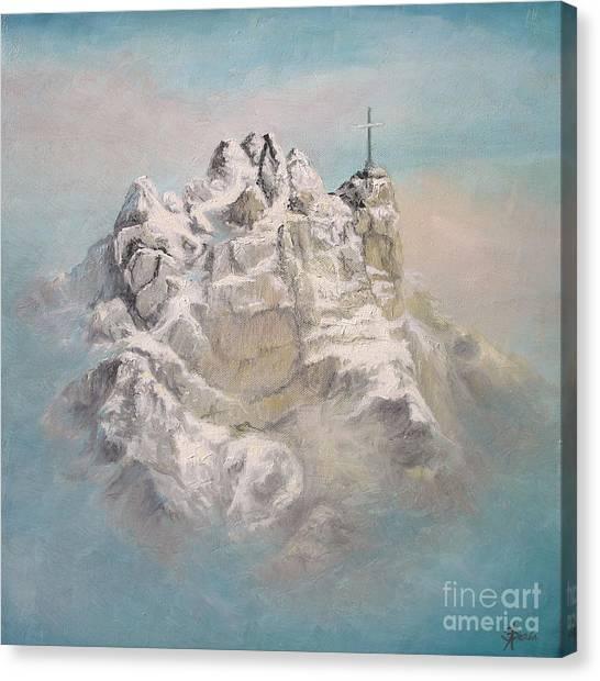 Window To Sky Canvas Print
