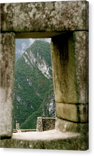 Window To The Gifts Of The Pachamama Canvas Print