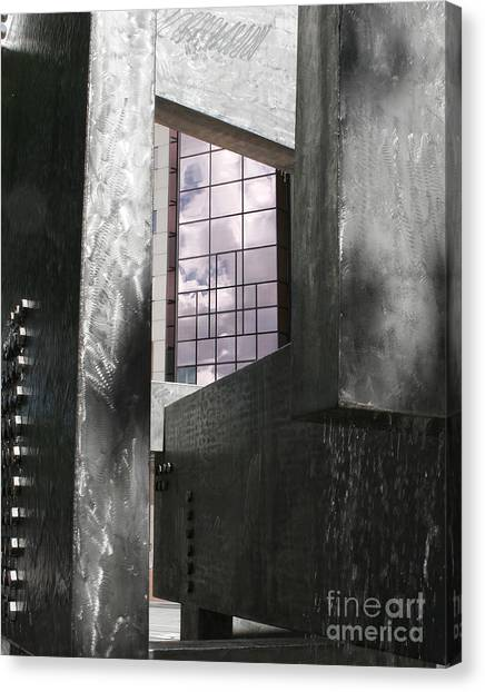 Window To The Sky Canvas Print by Keith Dillon