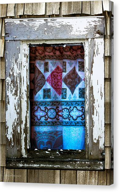 Window Toward The Sea Canvas Print