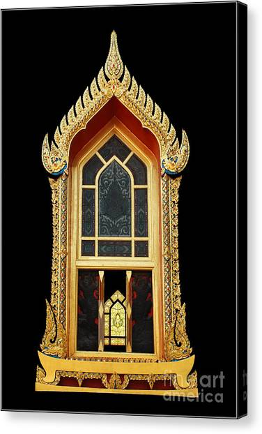 Window Canvas Print by Ty Lee