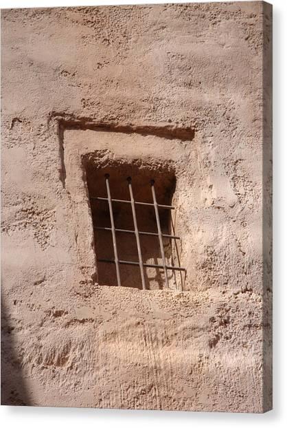 Window Warmth Canvas Print by Kim Chernecky