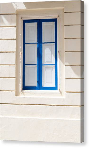 Window Canvas Print - Windows Of The World 6 by Sotiris Filippou