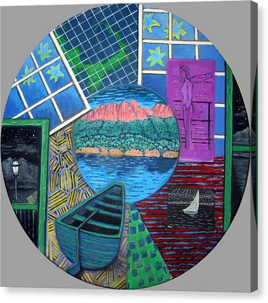 Windows Canvas Print by Susan Stewart