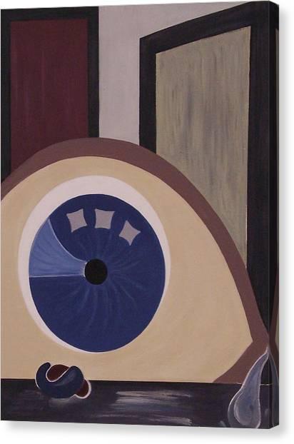Windows To The Soul Canvas Print by Sandy Bostelman